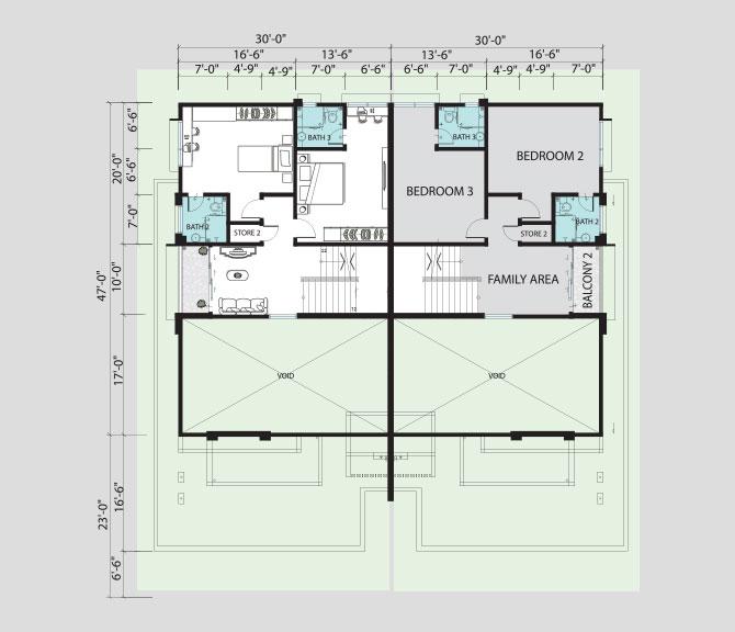 Pinggiran pengkalan bayu floor plans associated builders for My contractors plan